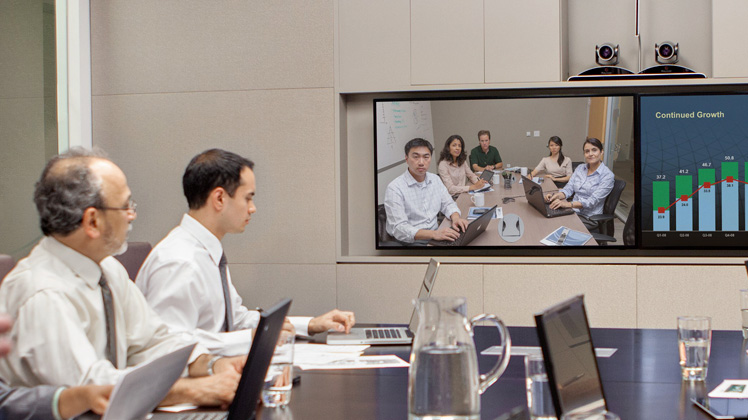 Video conferencing room system