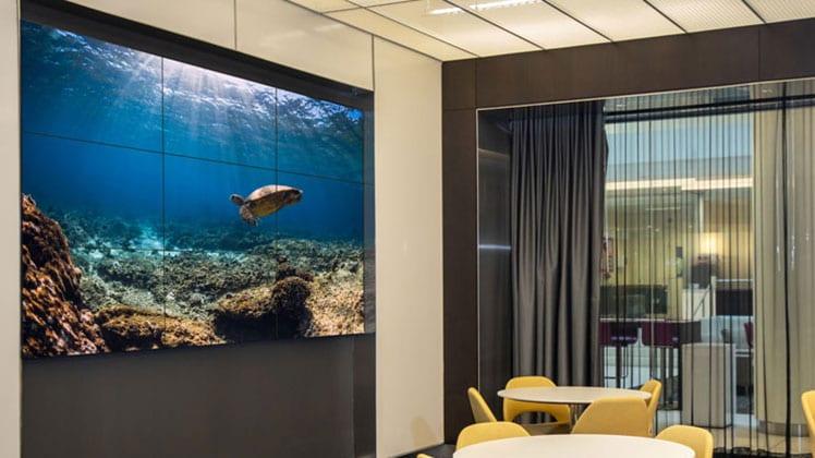 Video Wall at VSGi HQ