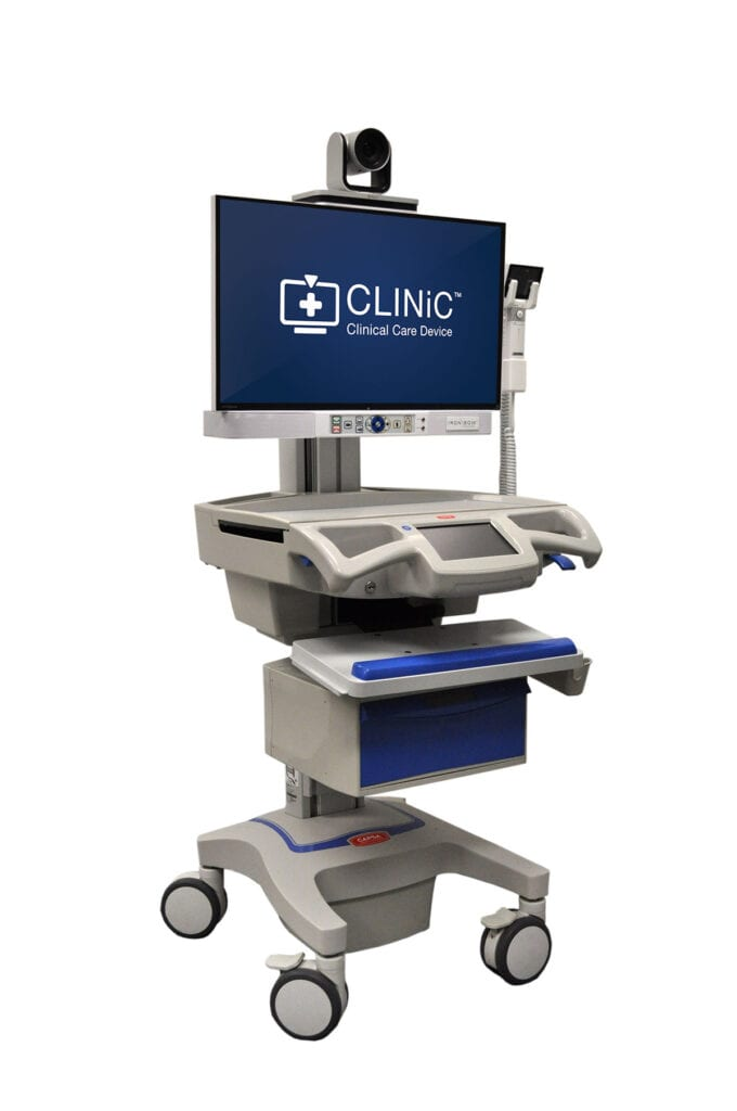 Ironbow Clinic Telemedicine Cart